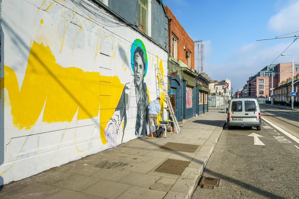 STREET ART ON CHANCERY STREET [A WORK IN PROGRESS]-170384