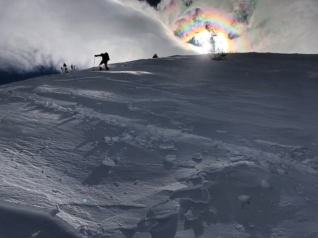 Is it a snowbow?  We saw a lot of these phenomena this day. by bryandkeith on flickr