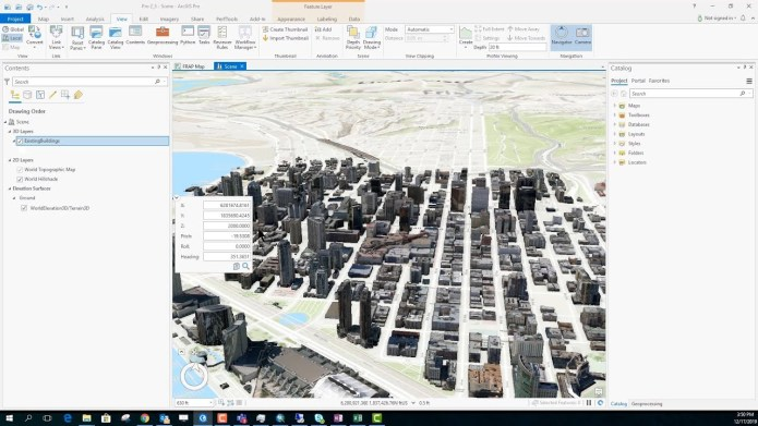 Working with ESRI ArcGIS Pro 2.5 full license
