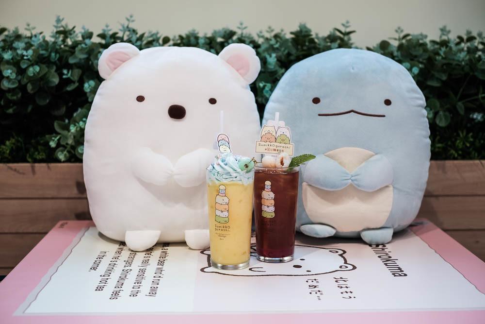 Kumoya Sumikkogurashi pop-up cafe_