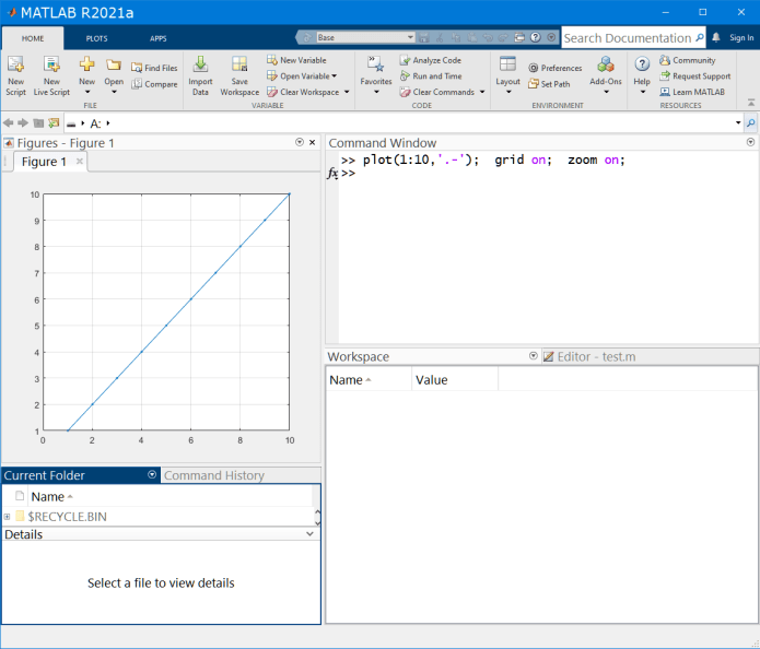 Working with Mathworks Matlab R2021a full