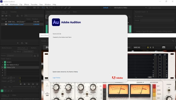 Working with Adobe - Audition CC 2021 v14.0.0.36 full license