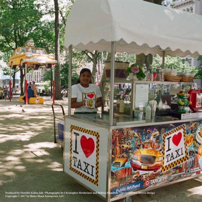 Shake Shack - Hot Dog Cart