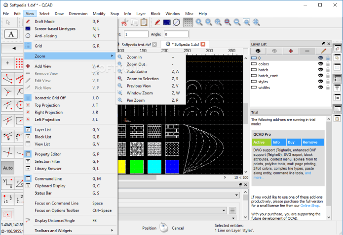 Working with QCAD-QCAD CAM Professional 3.26.0 full