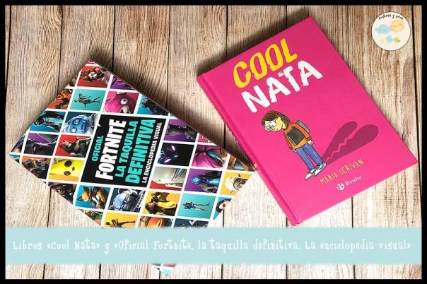 Reseña de los libros Cool Nata y Fortnite oficial