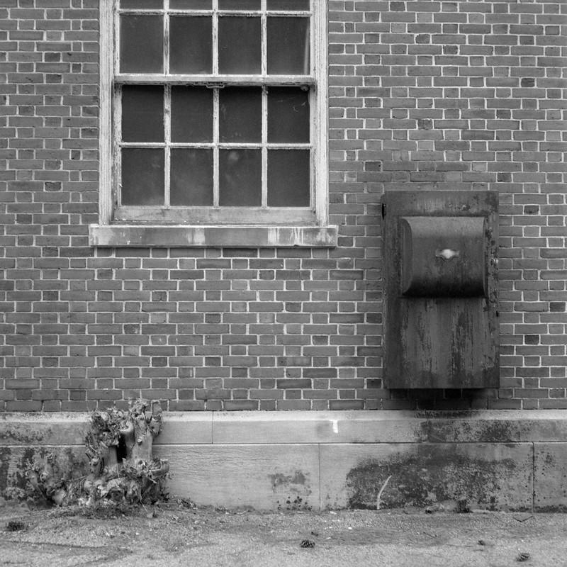 Black Box on Wall