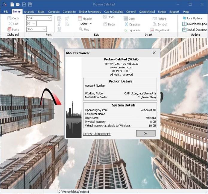 Working with PROKON 4.0 Build 2021-03-14 full