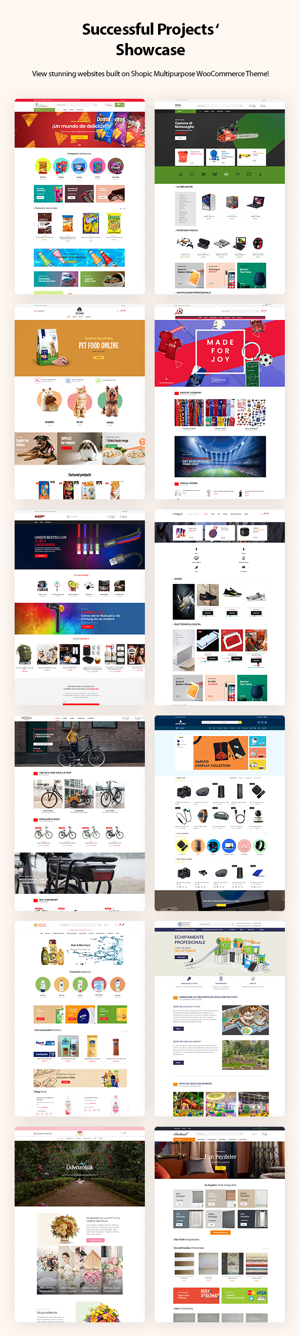 Websites Shopic - Multipurpose WooCommerce WordPress Theme