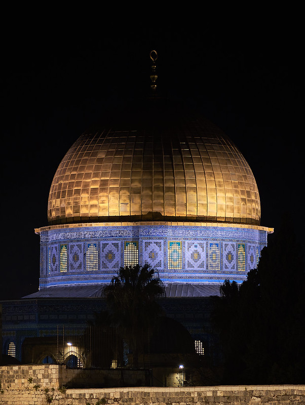Dome of the Rock by Night