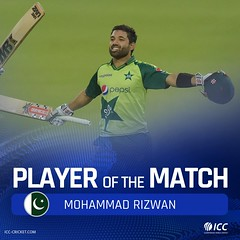 player of the match