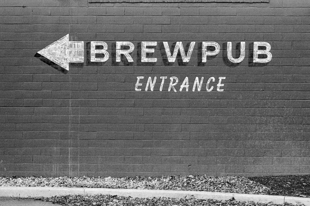 Brewpub Entrance