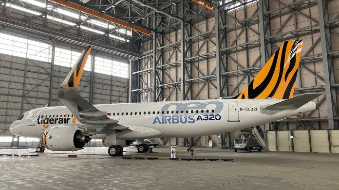 台灣第一架的 A320neo 客機