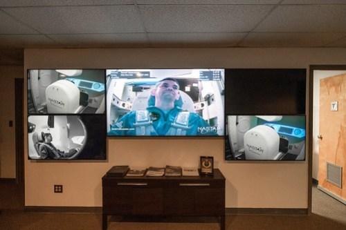 Centrifuge training at NASTAR Center