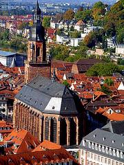 La iglesia del Espíritu Santo. Heidelberg