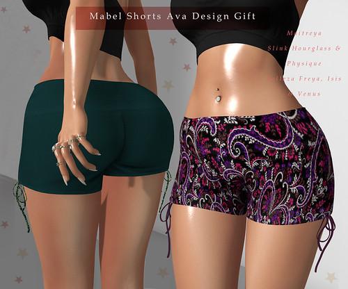 Mabel Shorts Ava Design Gift