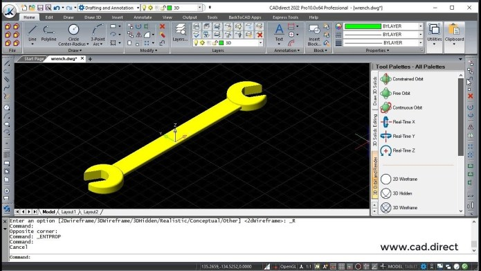 Working with BackToCAD CADdirect 2022 full