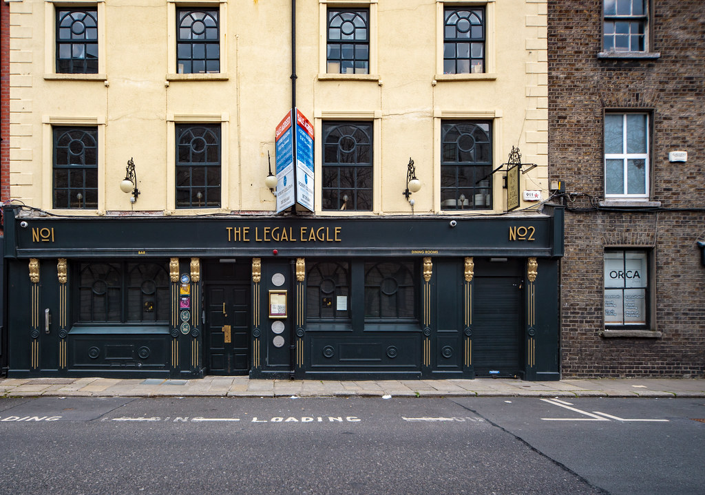 I HAVE NEVER VISITED THE LEGAL EAGLE [CHANCERY PLACE DUBLIN]-189917