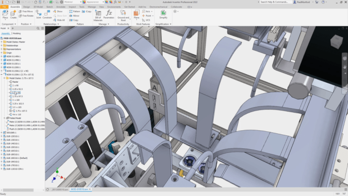 Working with Autodesk Inventor Professional 2022 full