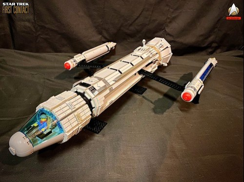 51134371197 dae0bc04a6 Star Trek Lego First Contact Phoenix