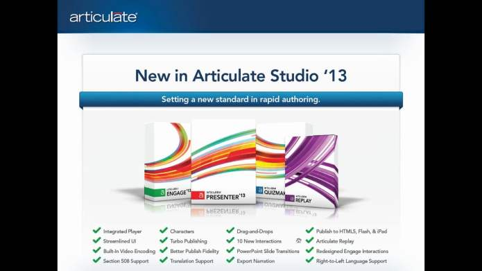 Working with Articulate Studio 13 Pro 4.11.0.0 full