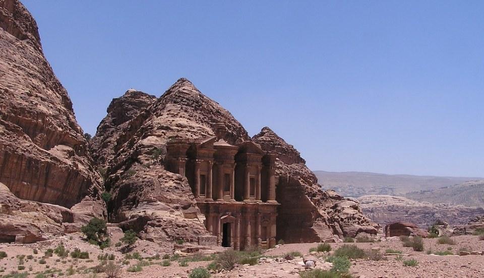 exterior Monasterio Al Deir Petra Jordania 15