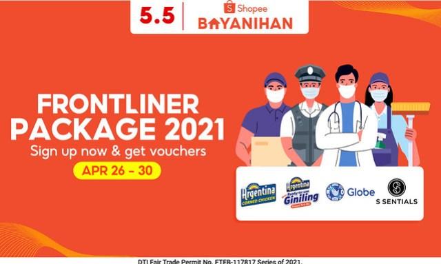 Shopee Bayanihan Frontliner Package