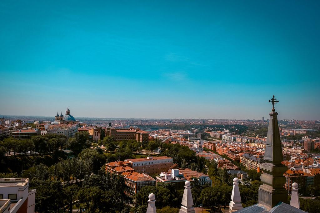 View from Catedral de la Almudena | Madrid or Barcelona
