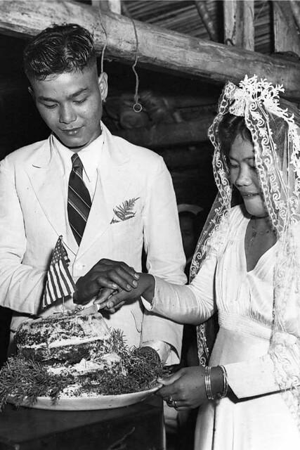 Cutting the Cake, Wedding Photo