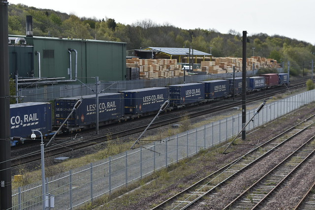 Less CO2 Rail containers