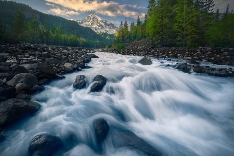 Oregon Waterfalls series #12