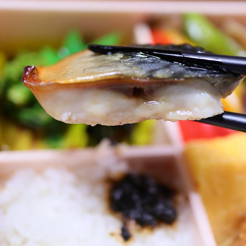 銚子産真サバの塩麹焼 ちば元気弁当~野菜弁当~ 15 絞りF2.0