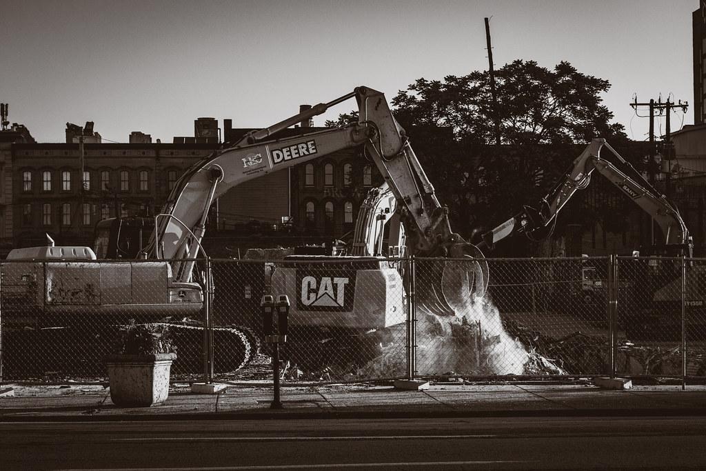 Destruction On Market Street