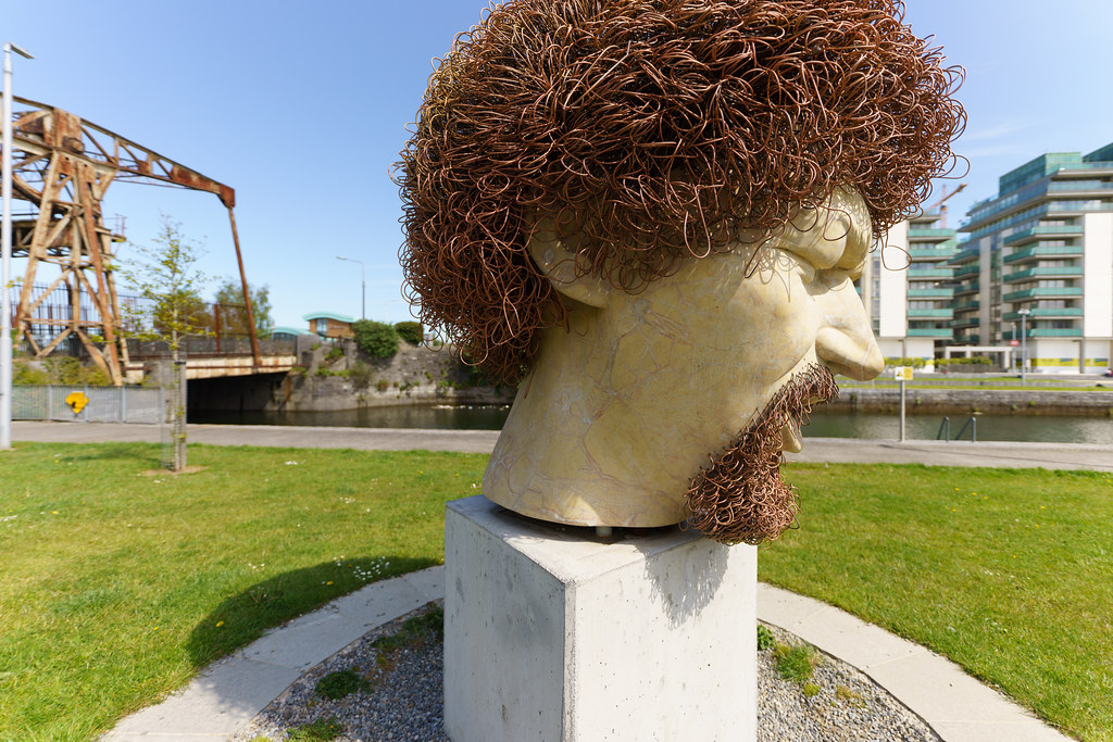 LUKE KELLY'S HEAD [WAS VANDALISED SEVEN TIMES]-191395