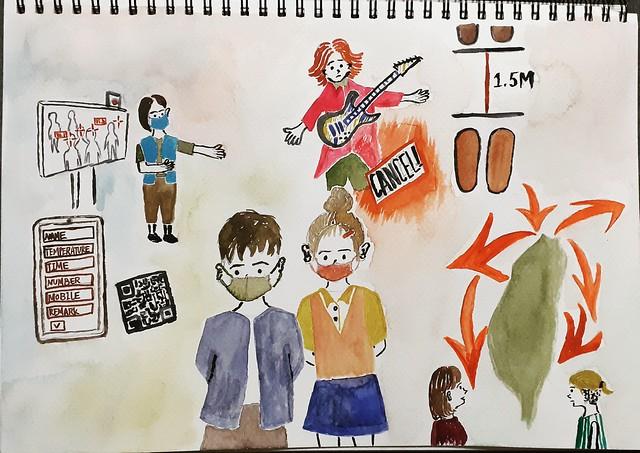 【防疫日誌3】陌生的旁聽者闖入虛擬教室