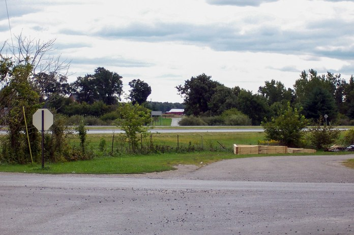 Looking across to Old US 31