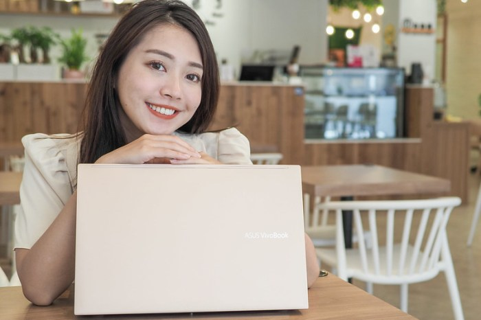 美型15吋大螢幕筆電三萬有找!ASUS VivoBook 15 S513EQ開箱 在家上班上課沒煩惱