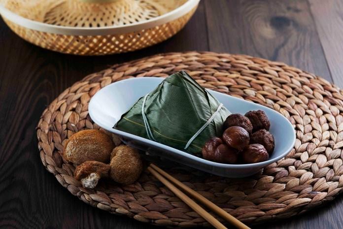 素肉丸猴頭菇金栗素粽