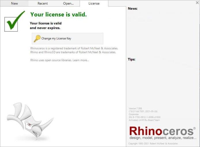 Rhinoceros 7.8.21144.07001 full license
