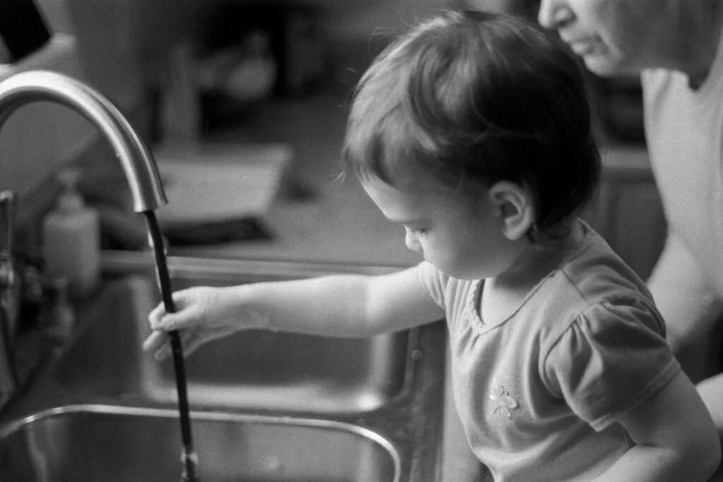 Sears KSX-P - Bubbles in the sink