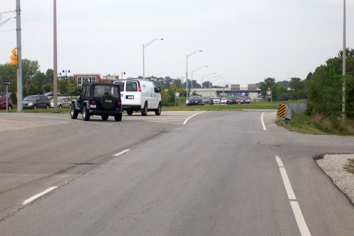 Old US 31 (Rangeline Road) NB