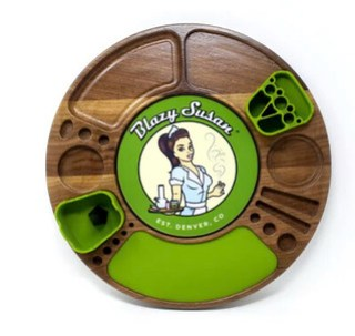 Spinning Rolling Tray #MySillyLittleGang