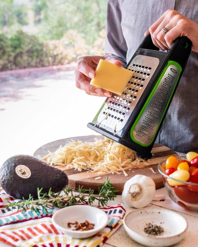 freshly grated gruyere cheese