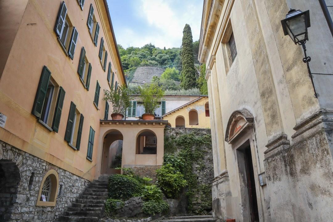 Villa Fogazzaro Roi, esterno