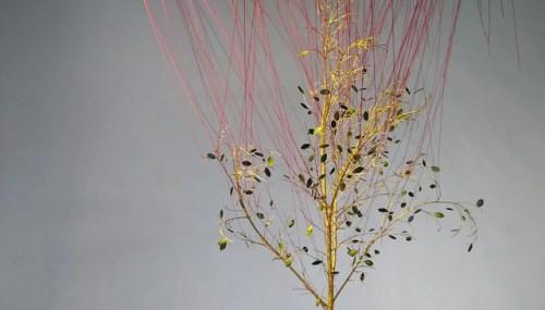 黃妍綾的作品《都會屋:輪迴鄉愁的夜》