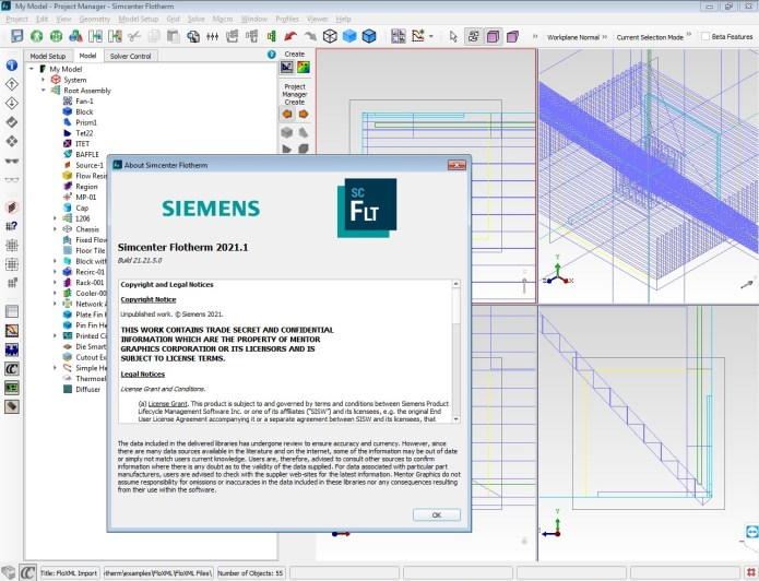 Working Siemens Simcenter FloTHERM 2021.1.0 full