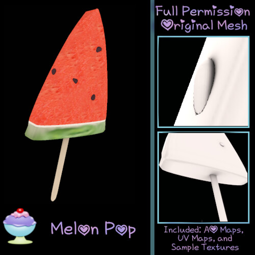 [Sherbert] Melon Pop Ad