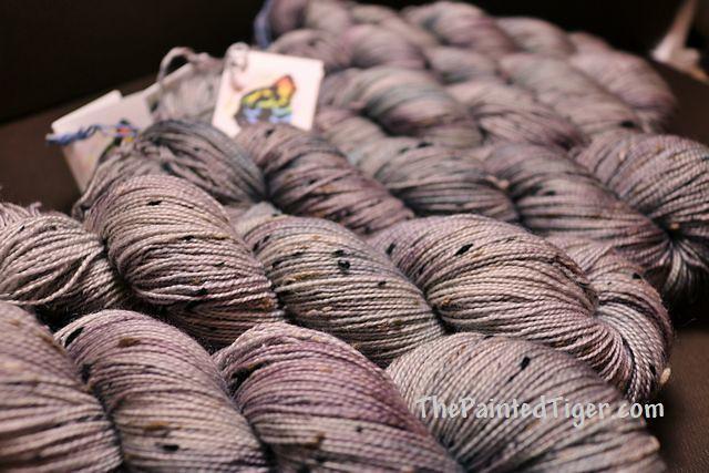 Pebbles Tiger Tweed - May 2021 Tiger Sock Yarn Club