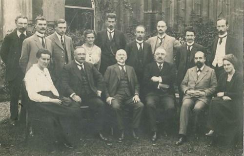 Simon Vestdijk Senior, gymnastiekleraar aan de HBS te Harlingen, ca. 1920