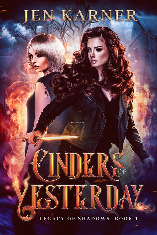 """Cover to """"Cinders of Yesterday."""""""
