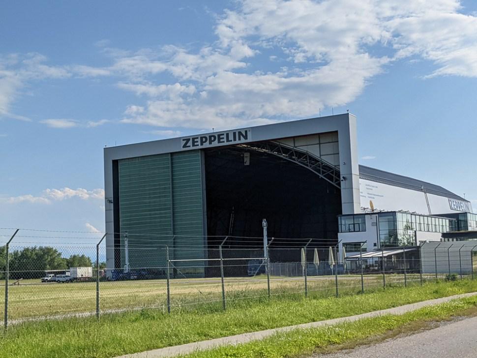 Zeppelin Hangar at Friedrichshafen Airport FDH